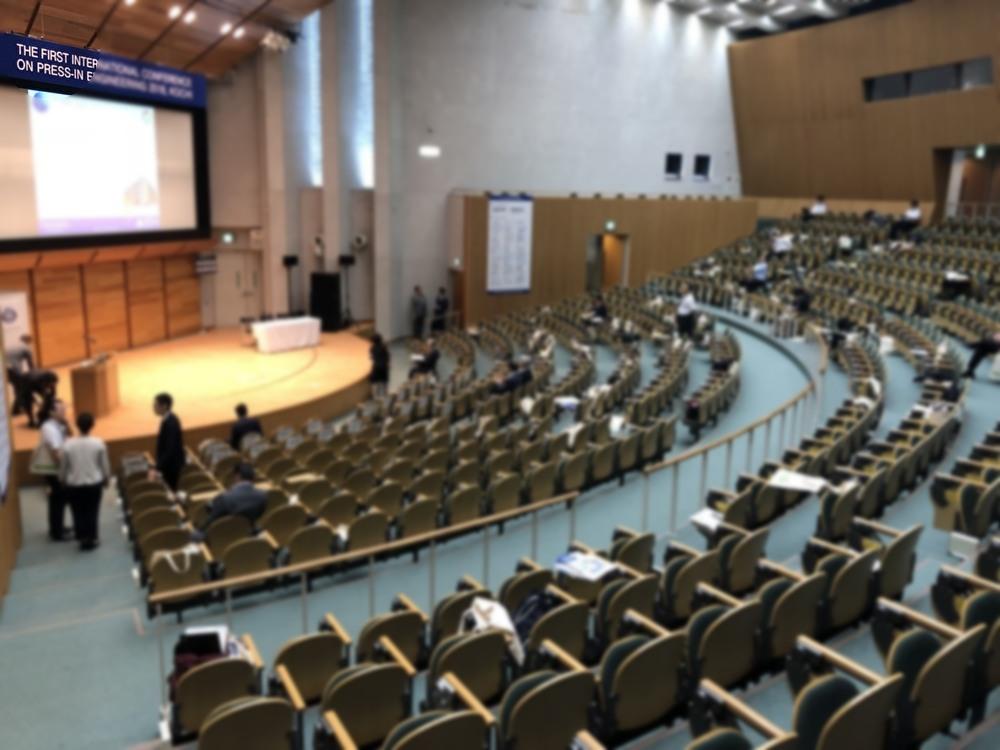 圧入工学の国際会議にてアースアンカーの発表