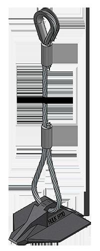 アースアンカーワイヤロープシンブル